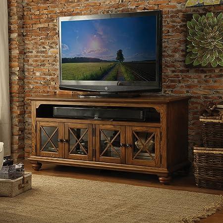 Wide TV Cabinet with 4 Doors