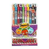 Scentco Colored Smencils 10-pack of Scented Coloring Pencils (Color: Original Version, Tamaño: 1)