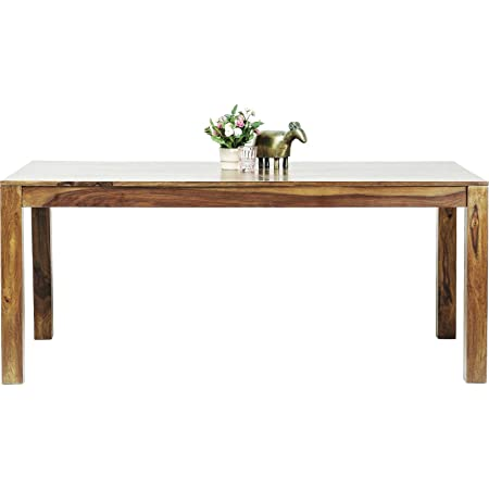 Table en bois Authentico 180x90 cm Kare Design