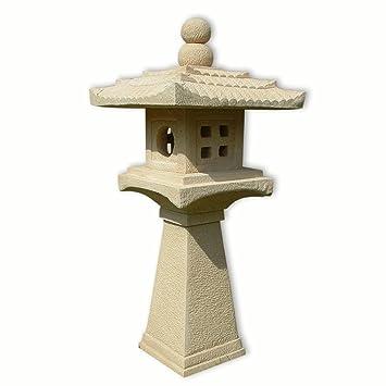 Lanterne japonaise 1 niveau 10403 jardin for Lanterne jardin zen