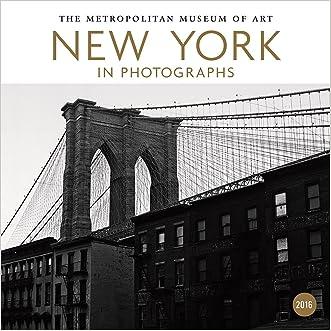 New York in Photographs 2016 Mini Wall Calendar