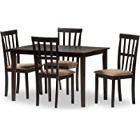 Baxton Studio 5-Pce Jet Moon Dining Set + $12.36 Kmart Credit