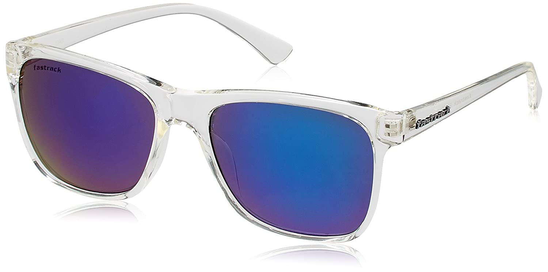 Fastrack Springers Wayfarer Sunglasses (Transparent) (P290BU2)