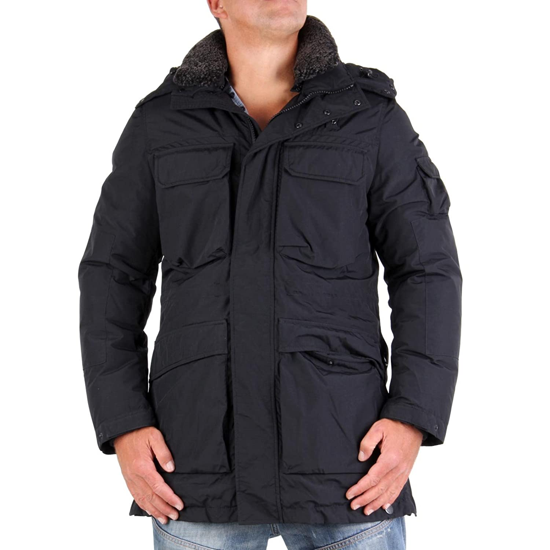 BLAUER USA Herren 2-in-1 Field Jacket Black BLU0413