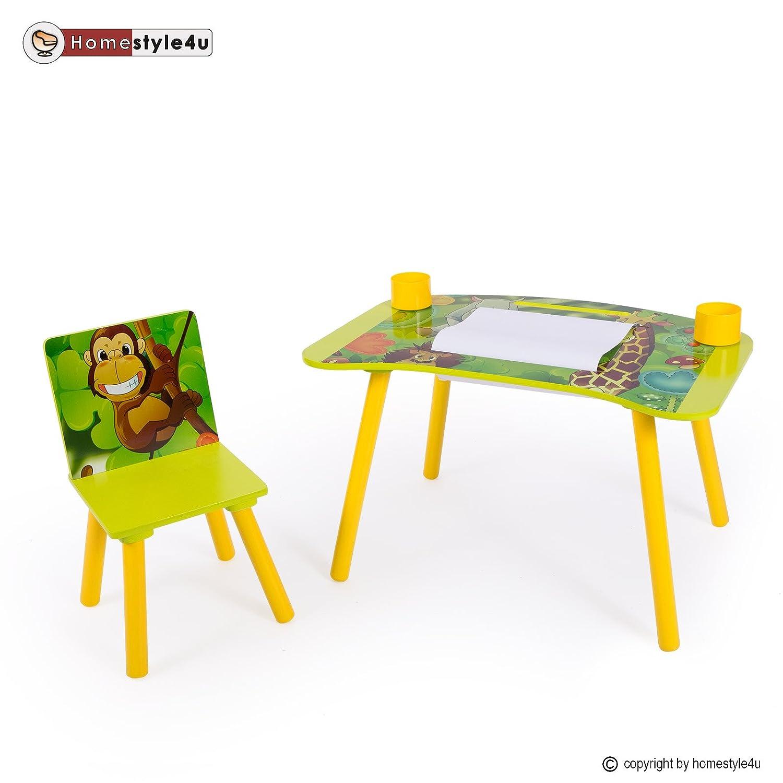 Homestyle4u Kindermaltisch Zeichentisch Kinder Tisch Stuhl Spieltisch Kindertisch Maltisch jetzt kaufen