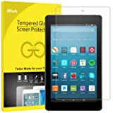 JETech Screen Protector for Amazon Fire HD 8 (2018, 2017 and 2016 Model), Tempered Glass Film (Color: Clear)