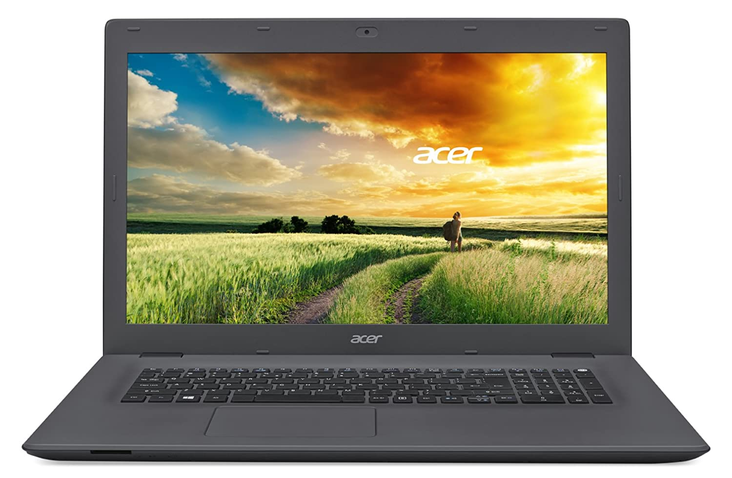 Acer Aspire E 17 E5-772G-52Q7 17.3-inch Full HD Notebook - Charcoal Gray (Windows 10)