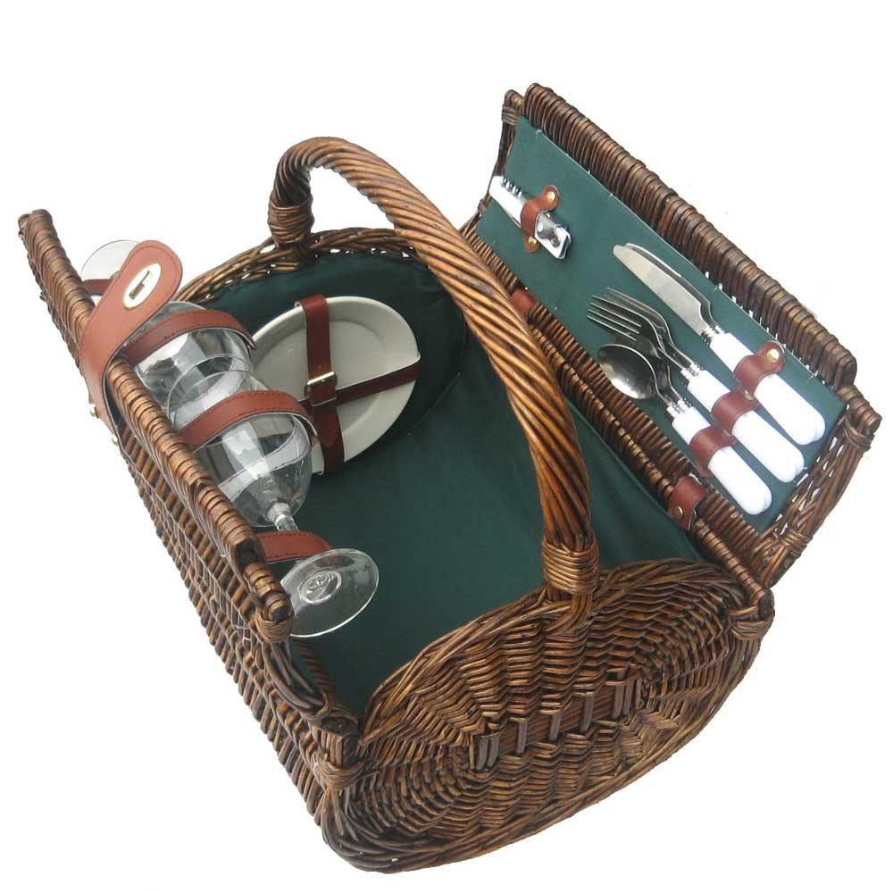 Sutherland Baskets Picnic Baskets for 2 Tierce