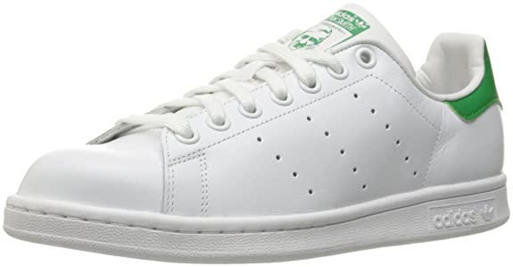 Adidas Stan Smith Originals Ftwwht / ftwwht / vert Chaussures Casual 6 nous