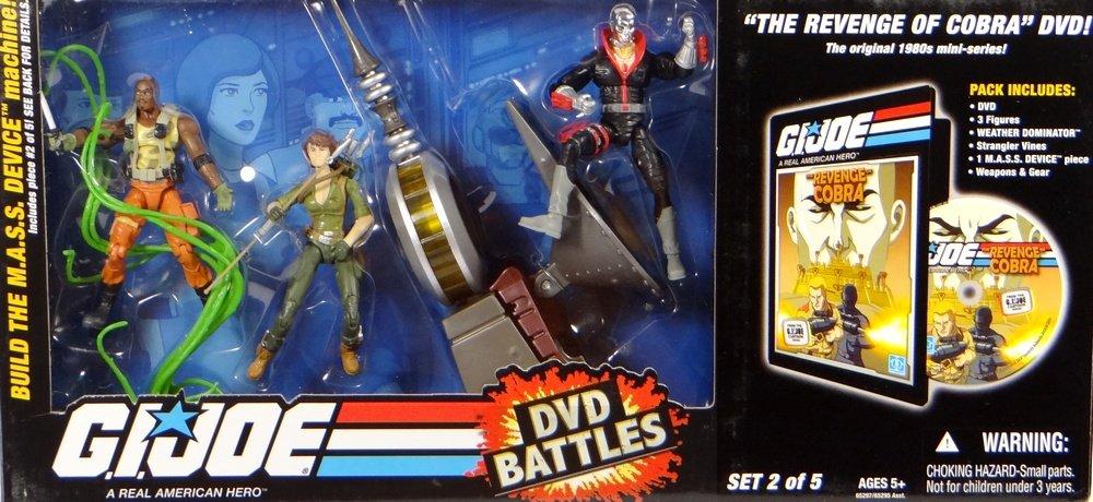 G.I. Joe Battle Pack mit Lady Jaye, Destro & Roadblock + Weather Dominator – Revenge of the Cobra incl. DVD – Battlepack von Hasbro bestellen