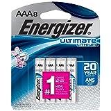 Energizer AAA Lithium Battery, Longest-lasting AAA Battery, Leak-proof Design, 20-year Power Storage, 8-count (Color: Original Version, Tamaño: 8 Count)