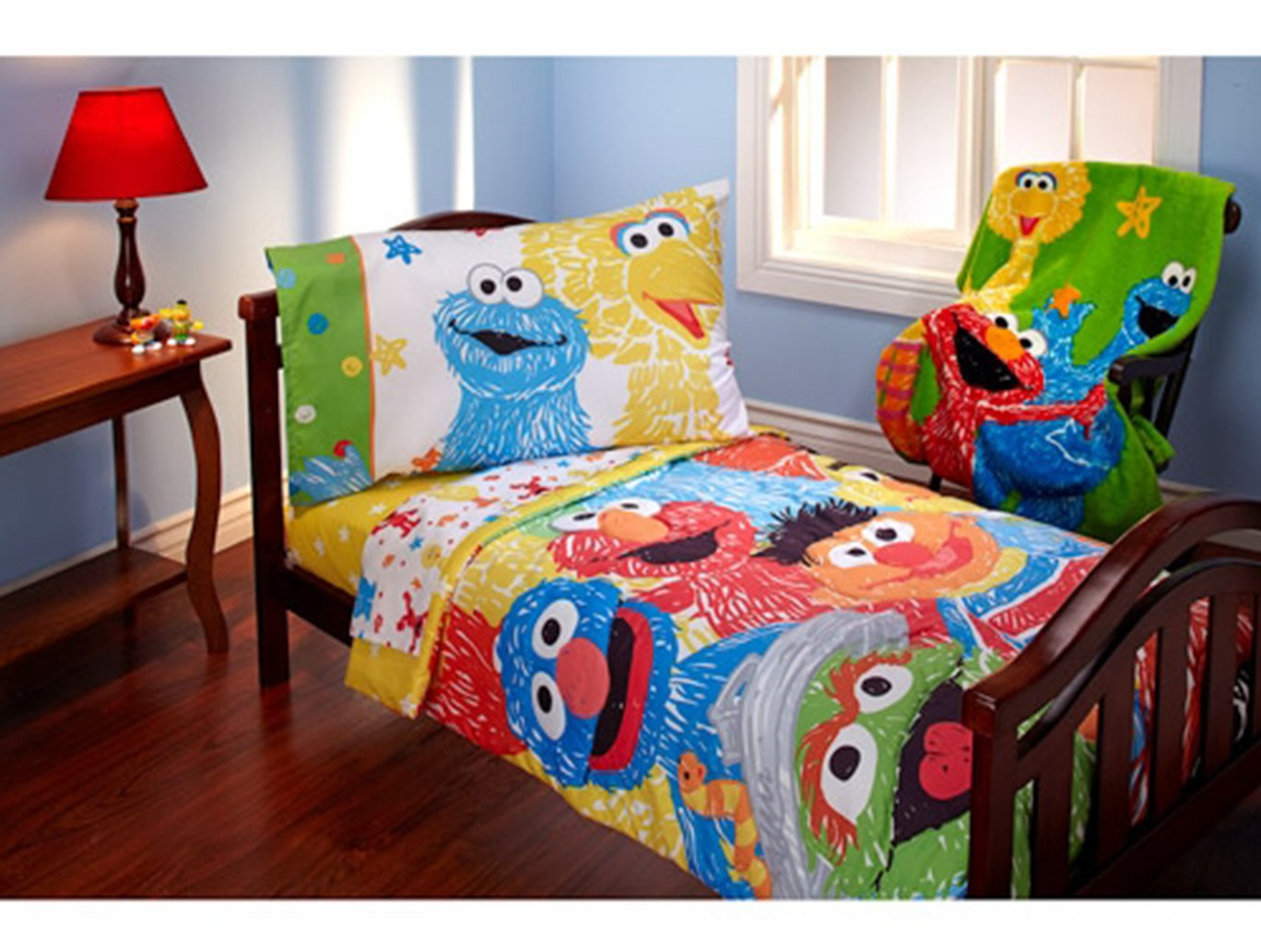Elmo Sheets Full Sheets Big Bird Elmo