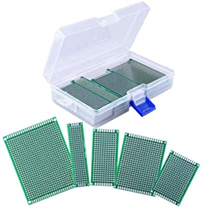 AUSTOR 36 Pieces Double Sided PCB Board Prototype Kit, 5