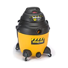 Shop-Vac 9541210 12-AMP Industrial SR Wet/Dry Vacuum, 12-Gallon