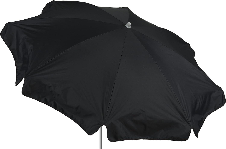 beo Sonnenschirme wasserabweisender, rund, Durchmesser 180 cm, anthrazit / schwarz online kaufen