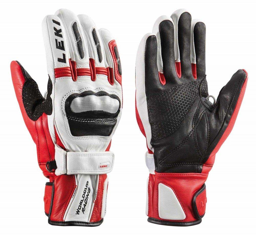 Leki Leki Worldcup Racing GS S – Trigger S Skihandschuhe white-red-black in Gr. 7.0 (h-s.d-m.k-xl) – Handschuhe günstig kaufen