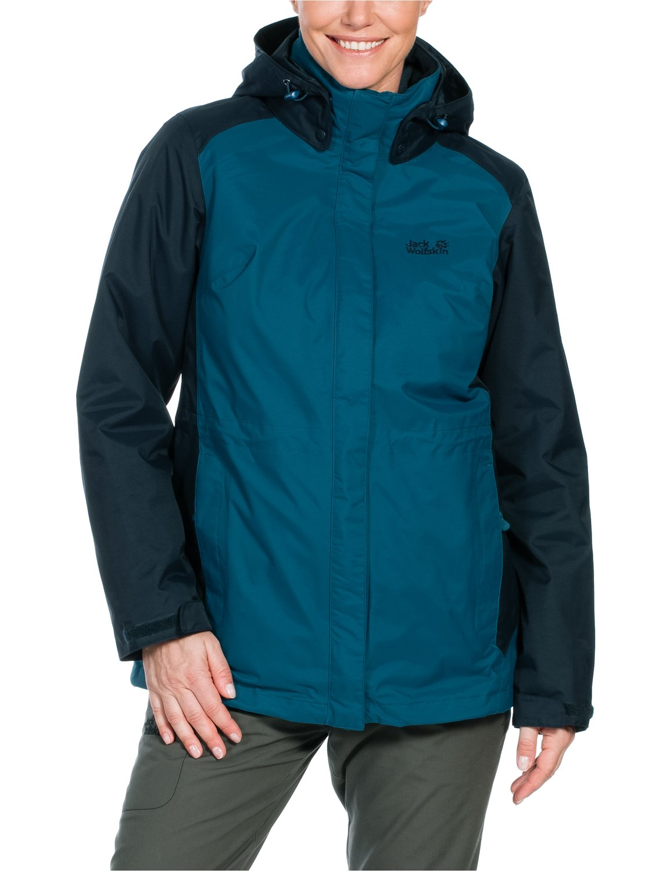Jack Wolfskin Damen 3-in-1 Jacke Amply Jacket jetzt kaufen