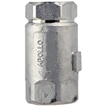 "Dixon 62-101 Stainless Steel 316 Ball Cone Check Valve, 1/4"" NPT Female"