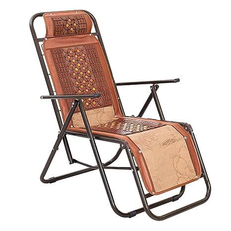 Ali Tumbonas / Silla de respaldo / Silla de bambú / Balcón Almuerzo Lounge / Oficina Silla plegable de verano / Silla Silla para ancianos