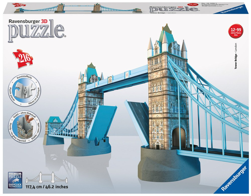 Amazon.com: Ravensburger Tower Bridge 3D Puzzle: Toys & Games