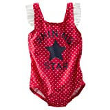 Oshkosh B'gosh Baby Girls Shining Star Swimsuit UPF+50 1-piece 6 Months