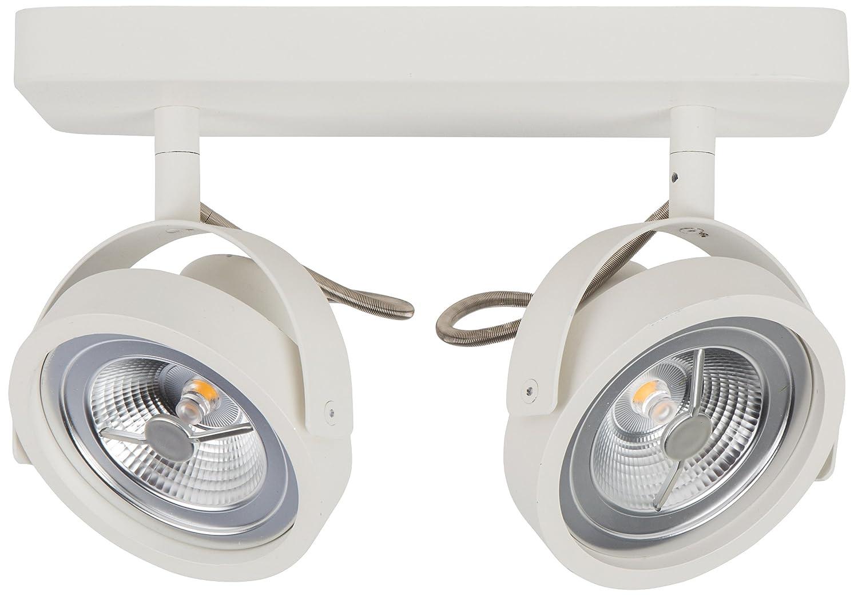 Zuiver 5500009 Spot Light Dice-2 LED, Stahl weiß