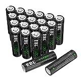 EBL 1100mAh Solar Light AA Ni-CD Rechargeable Batteries (Pack of 20) (Tamaño: AA 20 Pack)