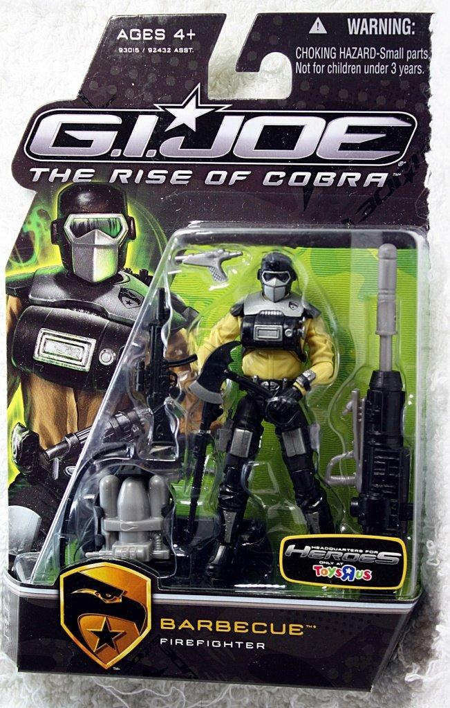 G.I. Joe Barbecue – Firefighter – The Rise of Cobra TRU Exclusive – Actionfigur von Hasbro online bestellen