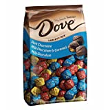 DOVE-PROMISES Variety Mix-Individually Wrapped Chocolate Candies-Dark Chocolate, Milk Chocolate & Caramel, Milk Chocolate-153 Piece Bag (Tamaño: 153 Pieces)