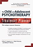 img - for The Child and Adolescent Psychotherapy Treatment Planner book / textbook / text book