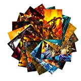 GTOTd Stickers for Doom:Eternal 20-Pcs, Sticker Decals of Vinyls for Laptop, Water Bottle, WindowGift, Teens, Cars, Collection, Skate Board etc. (Color: Minecraft)