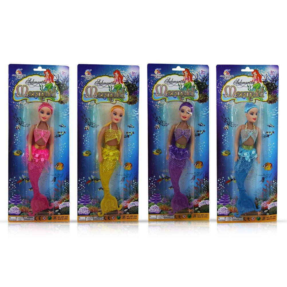 16 x Kunststoff Puppe Meerjungfrau mit Flosse Glamour Mädchenpuppe sortiert 26 cm online kaufen