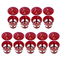 Amfocus Reusable Solo Coffee Pod Filter for All Keurig 1.0/2.0 Brewers,Works with Keurig Machines, Single Cup Brewers and Tea K-cup Pods With Quality Guarantee (9 pack)