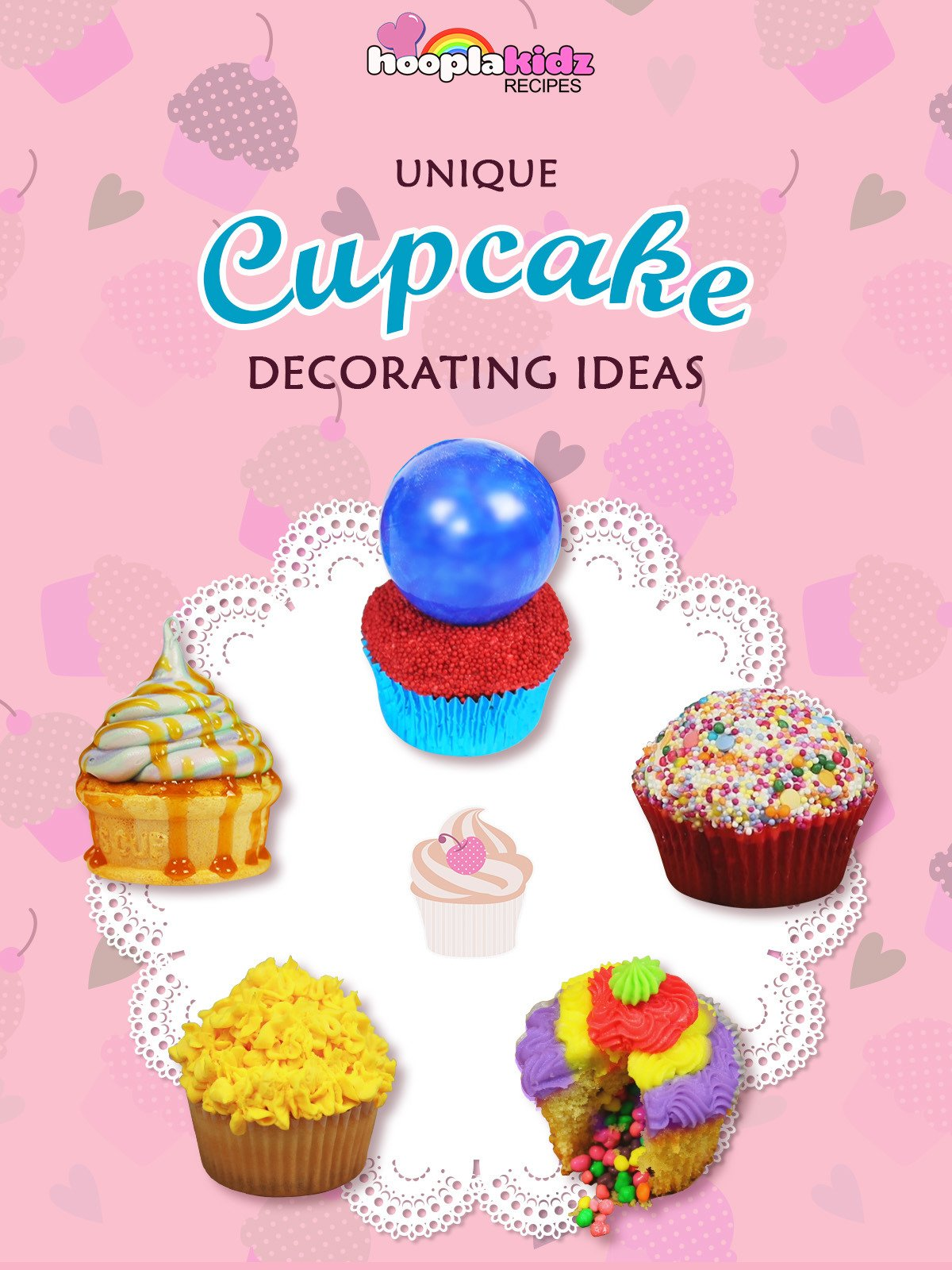 Unique Cupcake Decorating Ideas