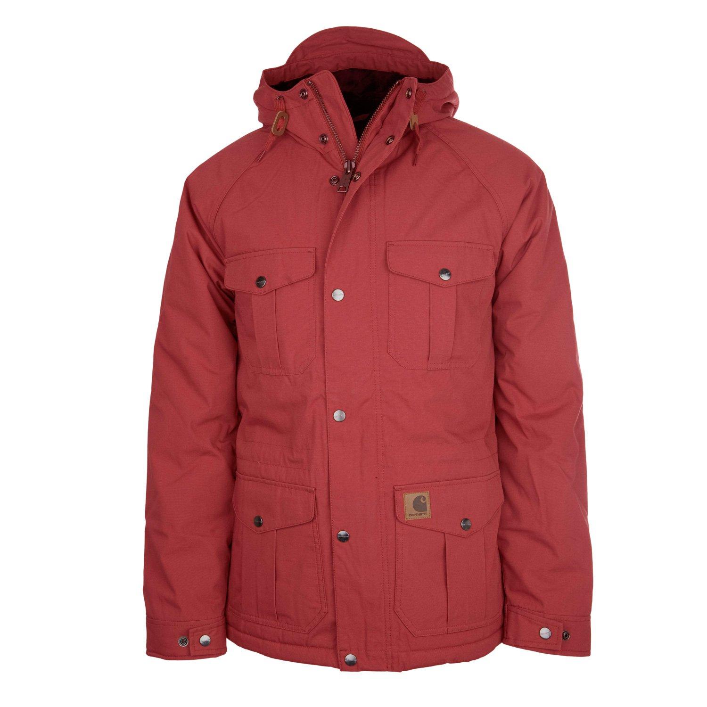 Carhartt Mentor Jacke tuscany red – Herren Winterjacke im Parka Stil online bestellen
