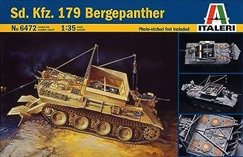 Italeri - I6472 - Maquette - Chars d'assaut - Bergepanther - Echelle 1:35