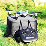 GooDGo MJX Bugs 2 SE GPS Drone The Latest Version of MJX App Operation iOS Android 1080P 5G WiFi Camera Record Video 1-Key RTH Altitude Hold Track Flight Headless Brushless Motor 2 Battery (Silver)