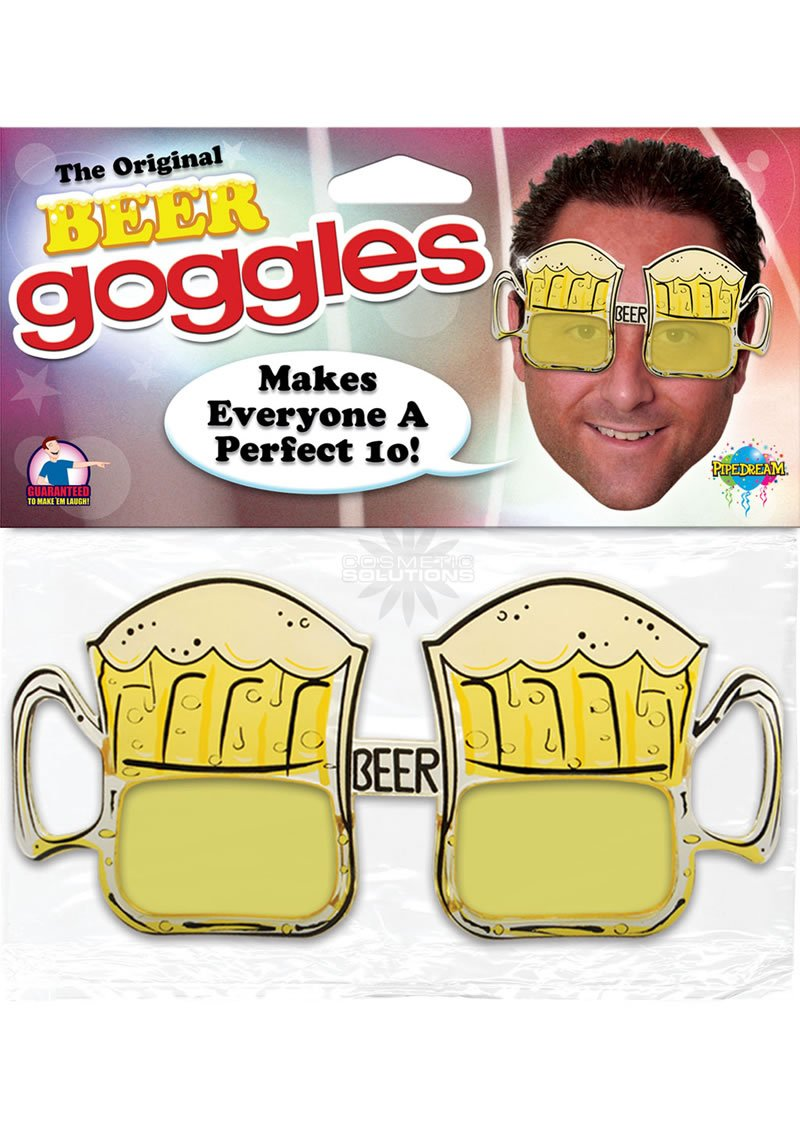 reban goggles  pipedream beer goggles
