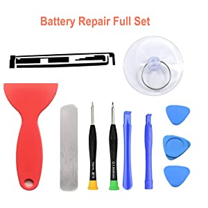 HDCKU Battery Replacement Kit for Apple iPad 2 2nd Generation A1395,A1396,A1397 with Full Repair Tools Set(1 Year Warranty) (Color: For iPad 2 Only)