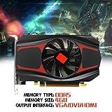NXDA For AMD ATI Radeon HD7670 4GB GDDR5 128bit Gaming Graphics Card PC Video Graphics Cards support VGA DVI HDMI (Black) (Color: Black)