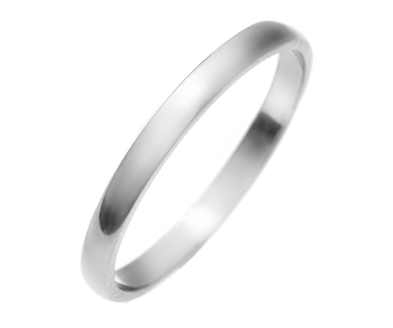 9 Karat (375) Weißgold 2mm Damen – Trauring/Ehering/Hochzeitsring kaufen