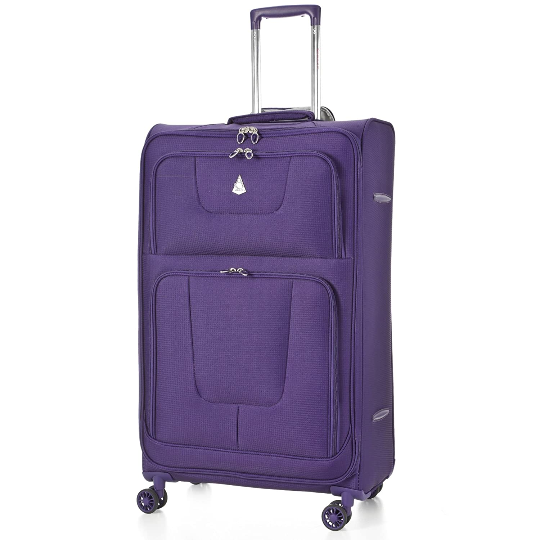 aerolite premium qualit t 4 rollen spinner modell ultraleicht koffer gep ck ebay. Black Bedroom Furniture Sets. Home Design Ideas