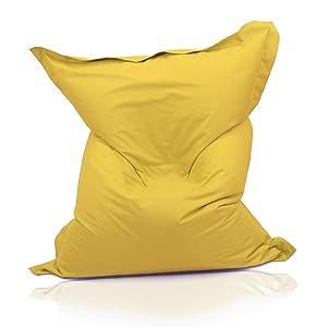 Kinzler K11163/06 Riesensitzsack 140x180 cm, gelb    Überprüfung und weitere Informationen