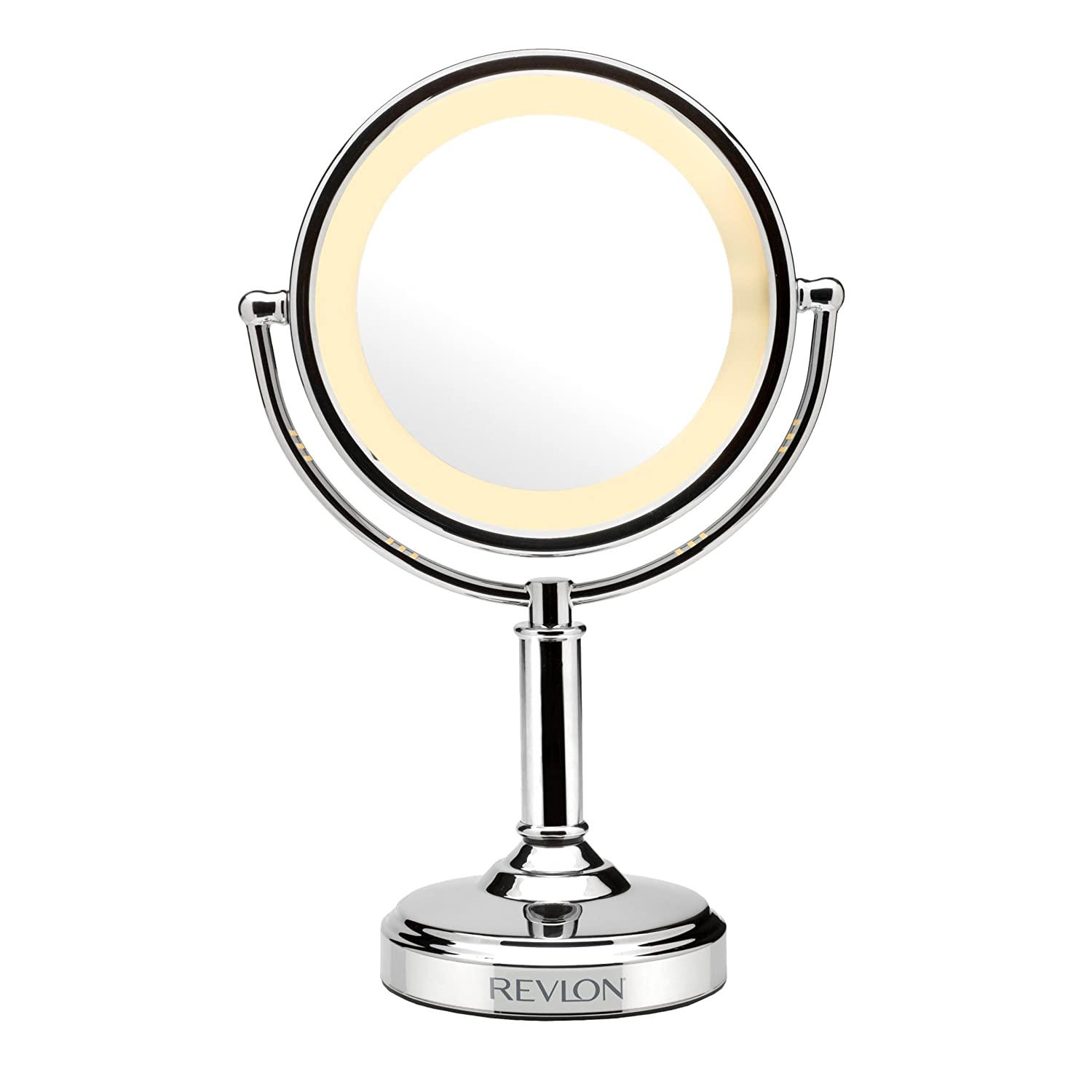 make up mirror double sided light up touch control 3 magnification. Black Bedroom Furniture Sets. Home Design Ideas