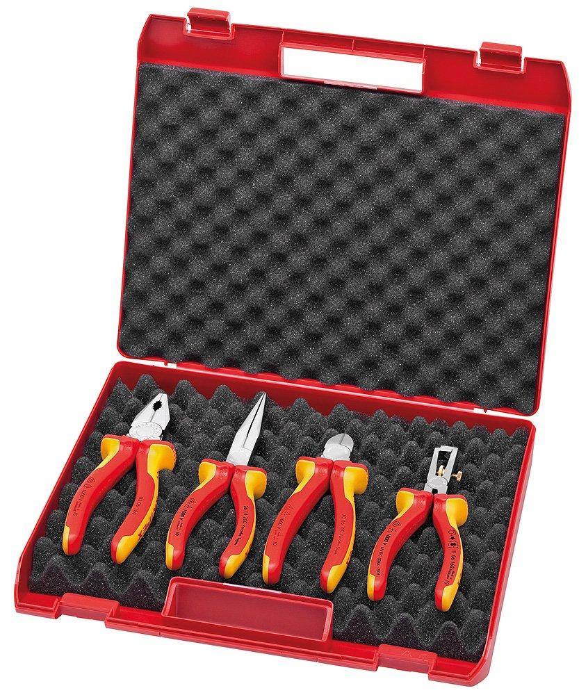 Knipex KompaktBox 4teilig 00 20 15  BaumarktÜberprüfung und weitere Informationen