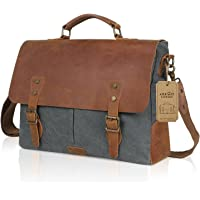 Lifewit Genuine Leather Vintage 15.6