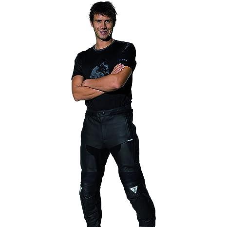 Racer 1256 VODOO Pantalon en cuir Noir