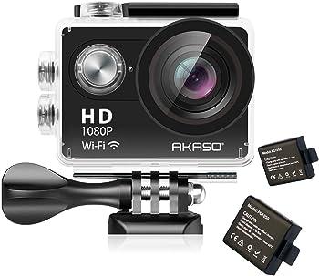 AKASO 1080P HD 12MP Waterproof Sports Camcorder