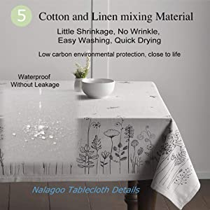 220504ab78c0 Unique Custom Cotton And Linen Blend Tablecloth Night Sky Christmas ...