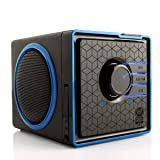 GOgroove SonaVERSE BX Portable Stereo Speaker System w/ Rechargeable Battery & 3.5mm Aux Port for Smartphones , Tablets , MP3 Players , Laptops , Handheld Gaming Consoles , Portable DVD Players & More Devices
